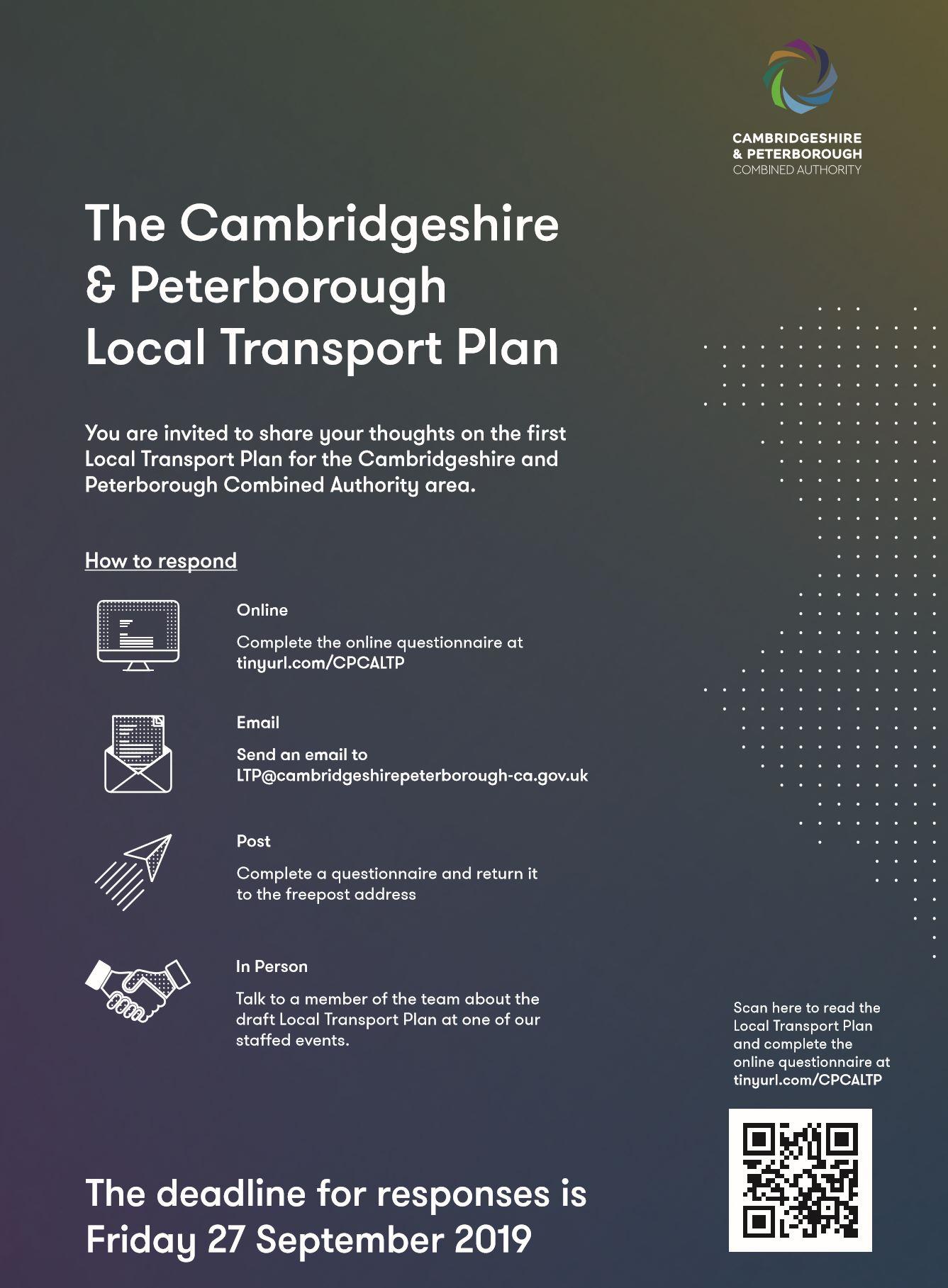 Exhibition – Local Transport Plan « Cottenham Community Centre